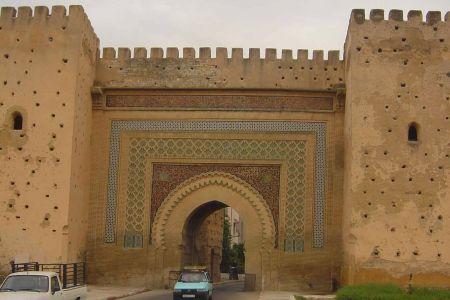 المدرسة البو عنانيّة في مكناس - المغرب