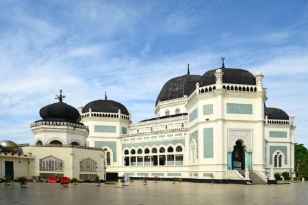 Great Mosque of Medan Indonesia
