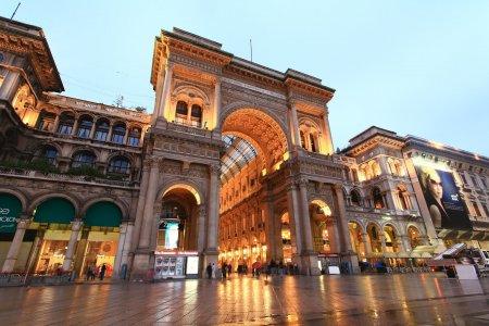 سوق غاليريا فيتوريو إيمانويل الثاني