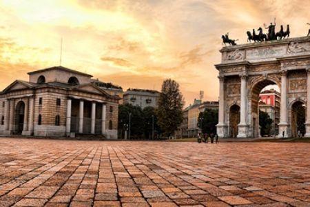 قوس السلام في ميلانو