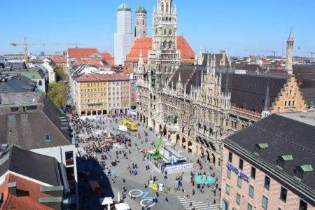 ميدان مارين بلاتز في مدينة ميونيخ
