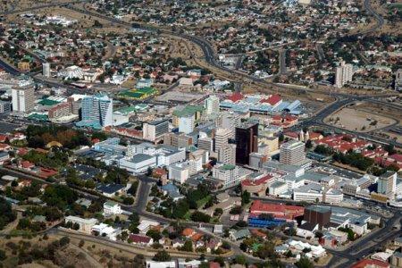 ويندهوك عاصمة ناميبيا