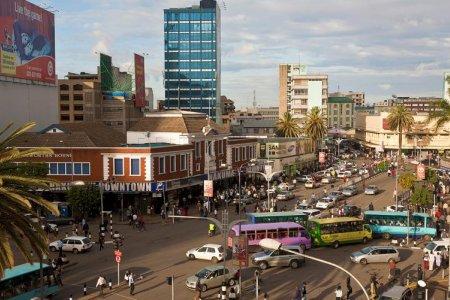 مدينة نيروبي عاصمة كينيا