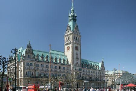 مبنى بلدية هامبرغ