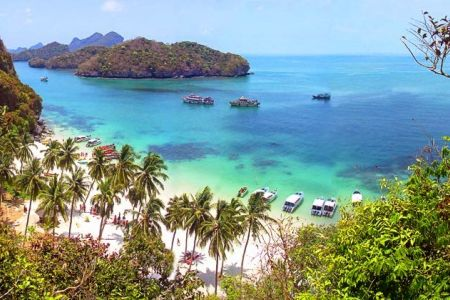 الحديقة البحرية الوطنية في هواهين - تايلاند