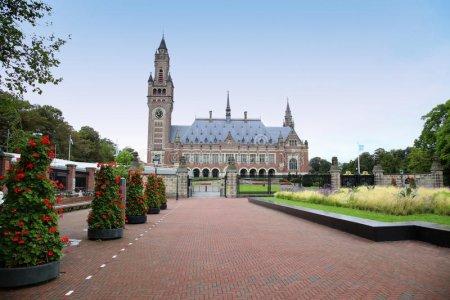 قصر السلام في مدينة لاهاي