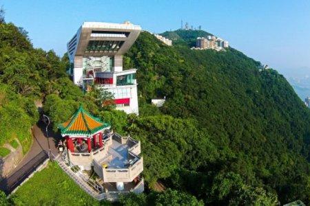 قمة جبل فيكتوريا في الصين