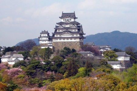 قلعة هيميجي في اليابان