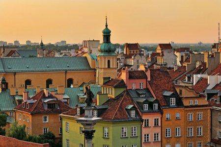 البلدة القديمة في وارسو - بولندا