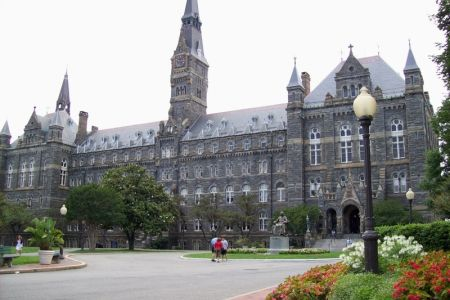 جامعة جورج تاون في واشنطن دي سي