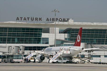 مطار أتاتورك الدولي اسطنبول