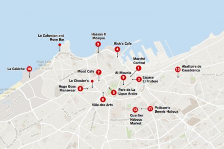 التقسيم الإداري والبلديات في الدار البيضاء