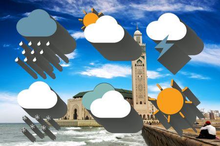 الطقس في الدار البيضاء