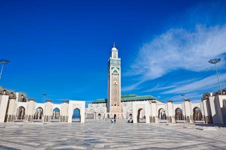 مسجد حسن الثاني في الدار البيضاء - المغرب