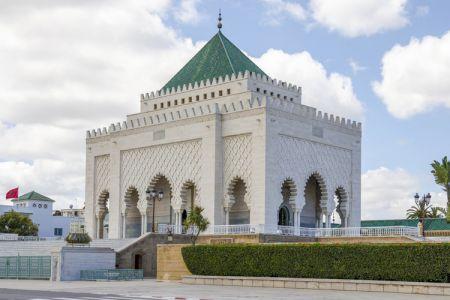 ضريح محمد الخامس في الرباط - المغرب