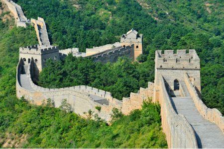 سور الصين العظيم في موتيانيو في بكين