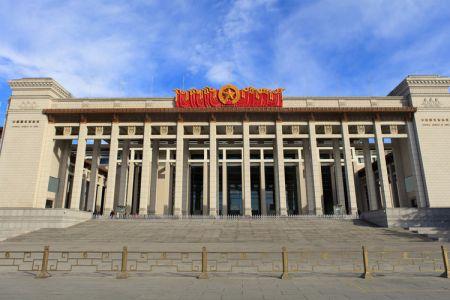 من داخل متحف الصين الوطني في بكين
