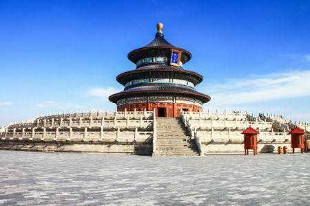 معبد السماء - تيانتان بارك في بكين - الصين