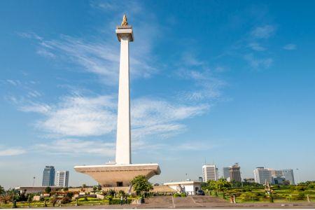 النصب التذكاري الوطني في جاكرتا - إندونيسيا