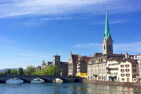 كنيسة نوتردام في زيورخ - سويسرا