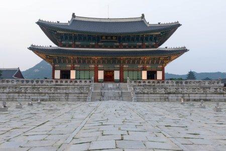 قصر جيونج في سيؤول - كوريا الجنوبية