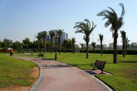 حديقة الراشدية في عجمان
