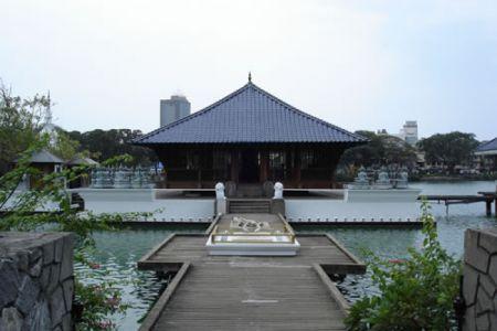 معبد سيما ملكة في كولومبو - سريلانكا