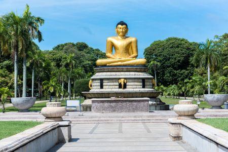 حديقة فيهاراماهاديفي - Viharamahadevi في كولومبو