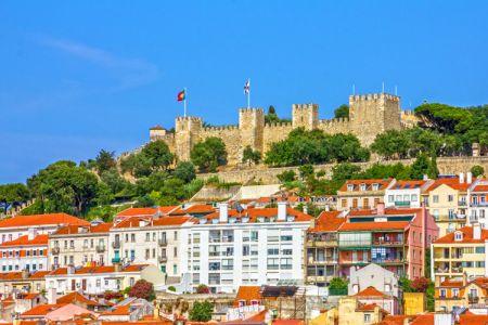 قلعة ساو خورخي في لشبونة - البرتغال