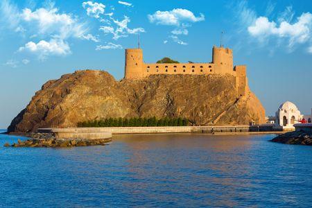 قلعة الجلالي في مسقط