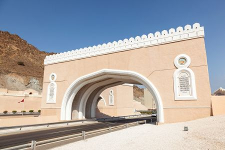 حصن مطرح في مسقط - عمان