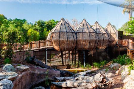حديقة حيوانات ملبورن في أستراليا