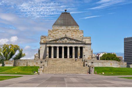 النصب التذكاري في ملبورن - أستراليا