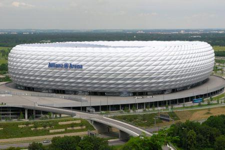 ملعب أليانز أرينا في ميونخ