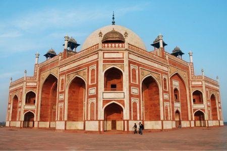 قبر همايون في نيودلهي - الهند