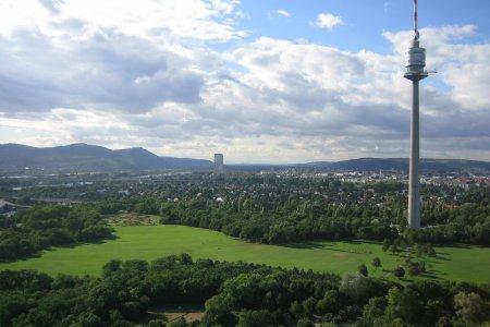 برج الدانوب في فيينا