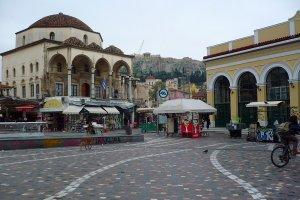 حي موناستيراكي في أثينا - اليونان
