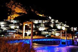 مدينة بيرات في ألبانيا