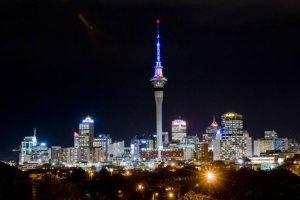 برج السماء في نيوزيلندا