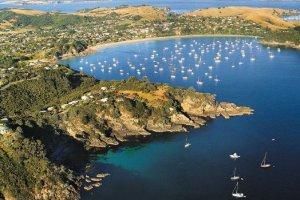 جزيرة واهيكي في أوكلاند - نيوزيلندا