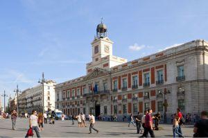 بوابة الشمس - Puerta del Sol - مدريد