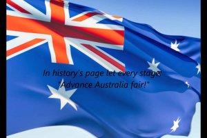 النشيد الوطني لأستراليا
