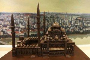 معالم تركيا المصنوعة من الشوكولاتة