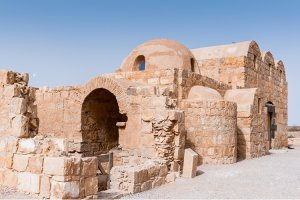 قصر حمام الصرح - الزرقاء - الأردن