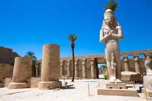 معابد فروعونية في مدينة الأقصر