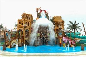 حديقة ياس المائية أو ياس ووتر ورلد في أبوظبي