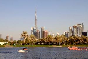 حديقة الصفا في دبي