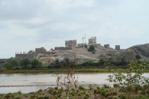 قرية دار الحصن في الباحة