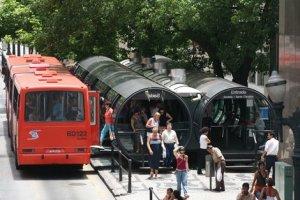 الحافلات في البرازيل