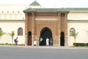 القصر الملكي في الدار البيضاء - المغرب